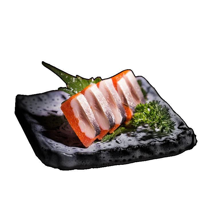cá trích ép trứng đỏ