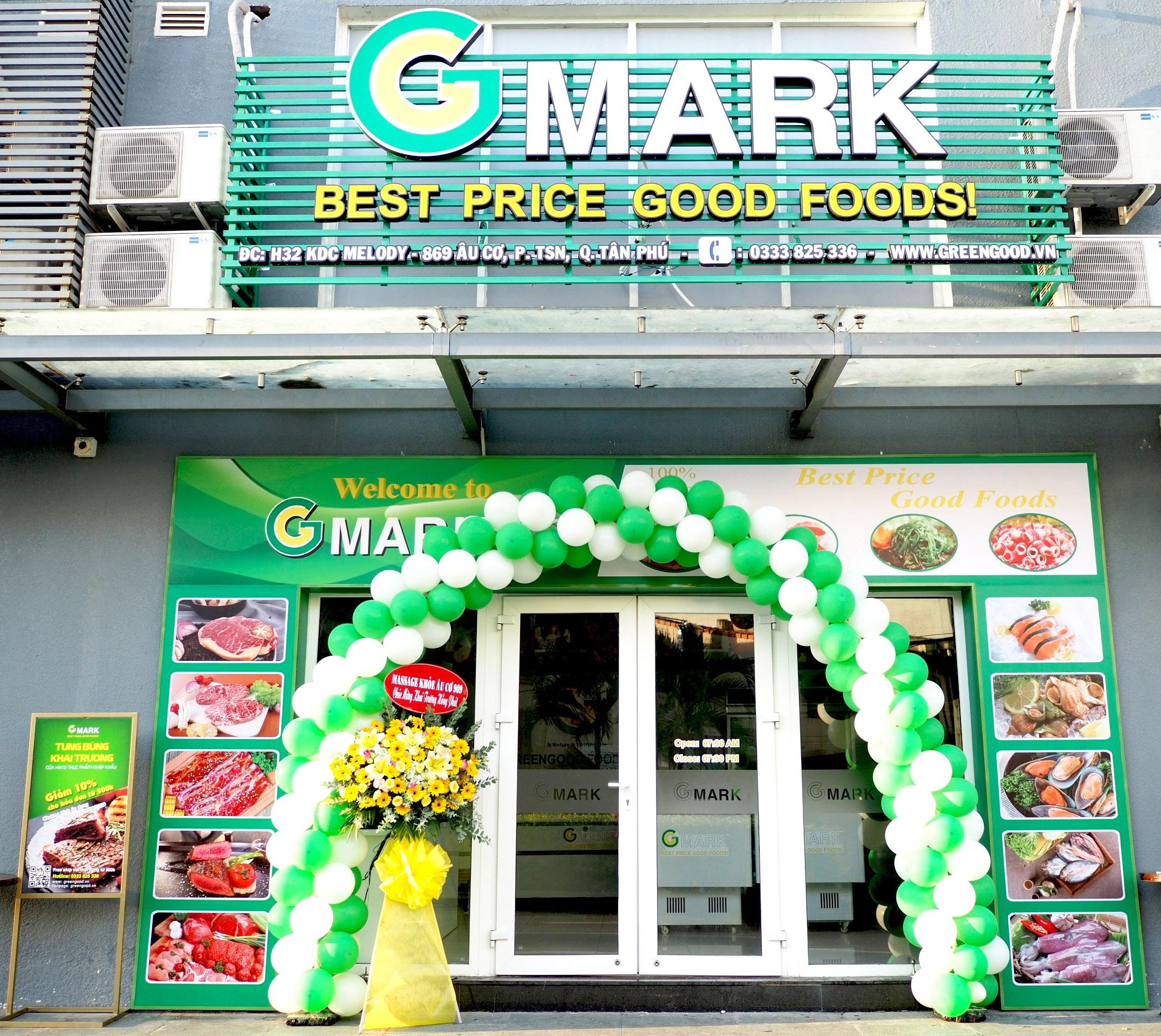 cửa hàng thực phẩm nhập khẩu gmark tân bình