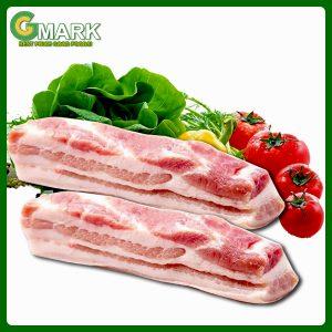thịt ba rọi heo gmark.