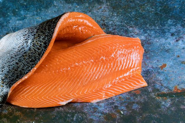 cá hồi tươi fillet