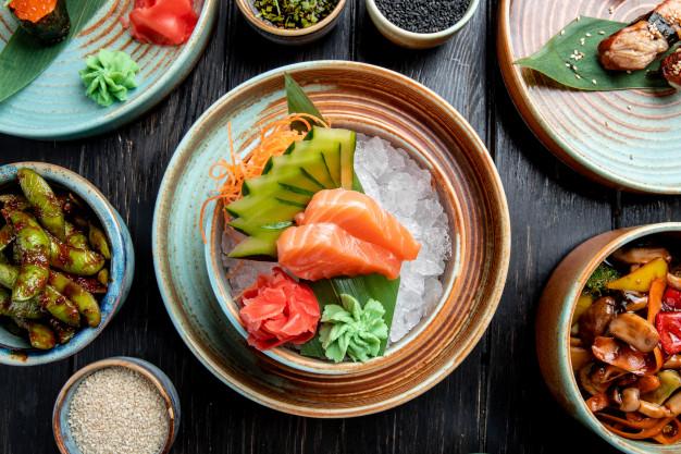 sashimi cá hồi nauy tươi fillet
