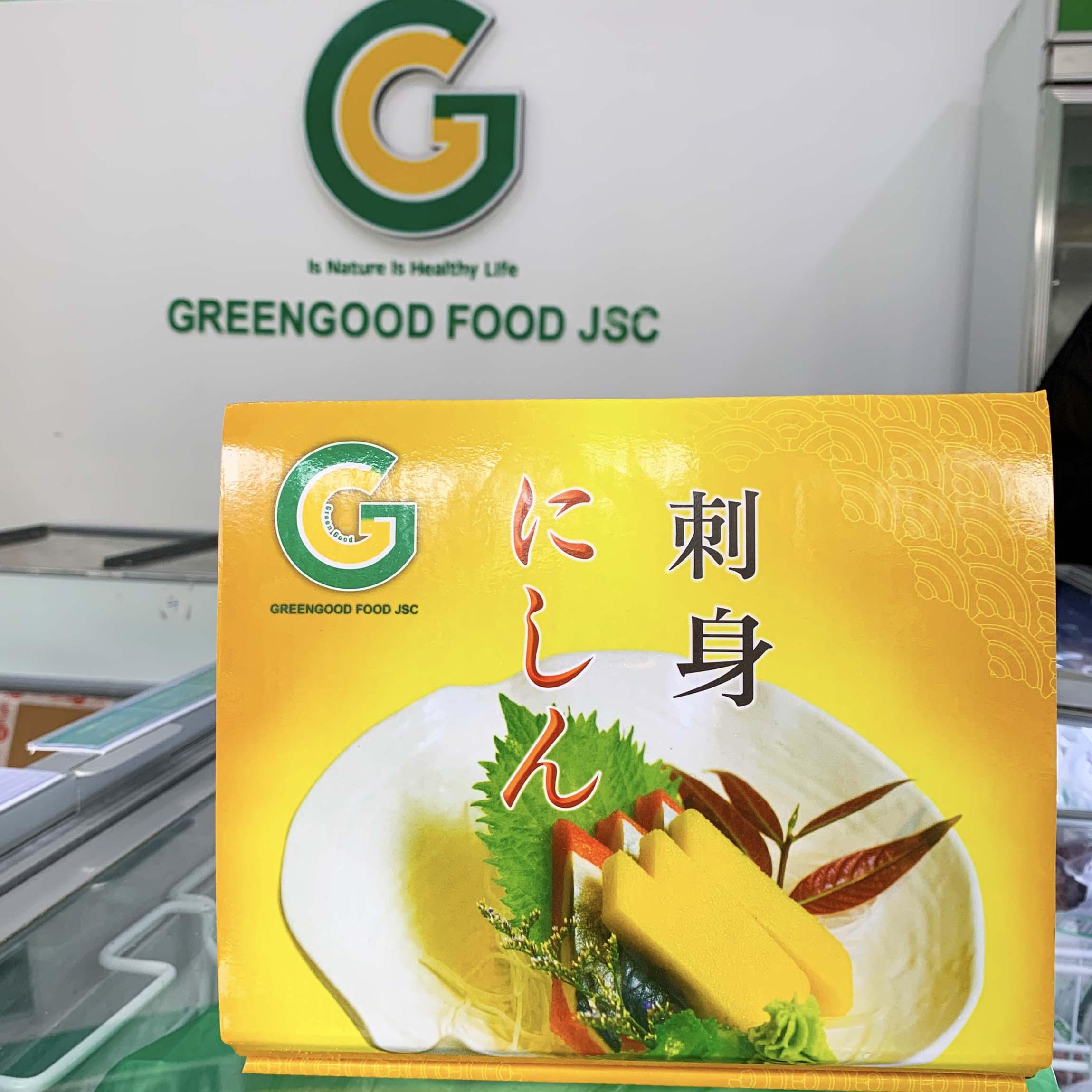 cá trích ép trứng greengood